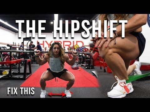 Fixing The Hip Shift In Your Squat