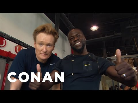Thumbnail: Conan Hits The Gym With Kevin Hart - CONAN on TBS