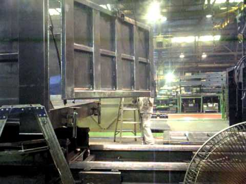 Welding Dump Trucks video0005