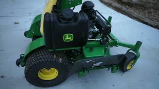 NEW MOWER!!! JOHN DEERE QUIKTRAK 648R!!! WalkAROUND