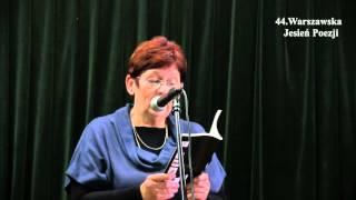 """Dorota Lorenowicz czyta swój wiersz """"Miejsca ukojenia"""""""