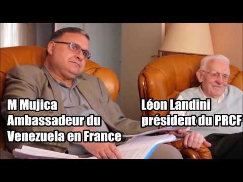 Election présidentielle du 20 mai 2018 entretien avec l'ambassadeur du Venezuela en France