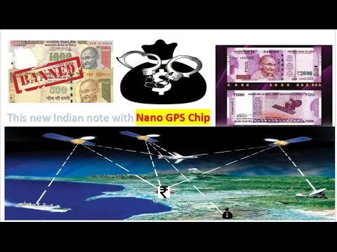 New 2000 Rupee Notes Nano GPS Chip ! Black Money Tracking ! every Time