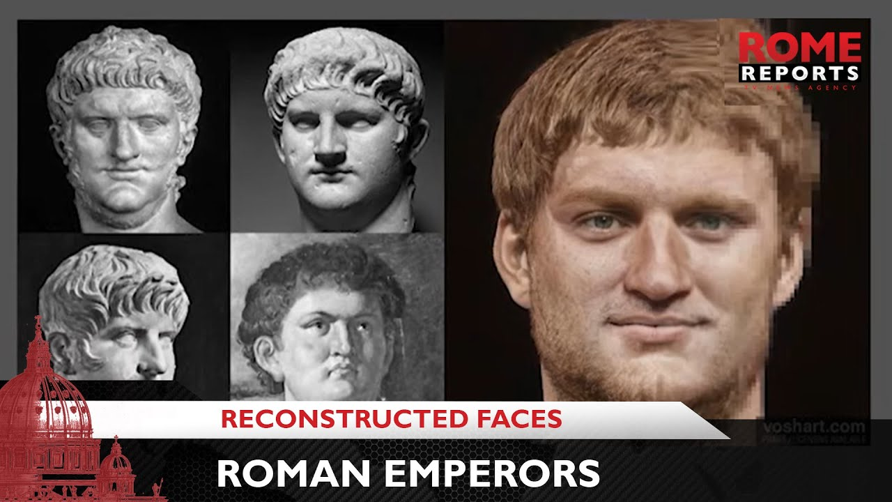 Download Faces of Roman statues are being reconstructed using latest technology