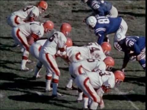1968 Browns at Colts Game 6