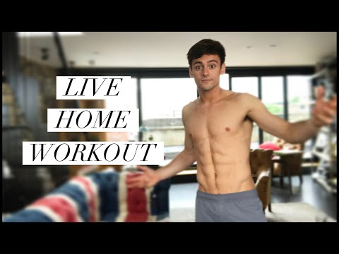Can you keep up? | LIVE WORKOUT | Tom Daley
