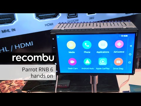 Parrot RNB 6 Apple Carplay/Android Auto stereo hands-on