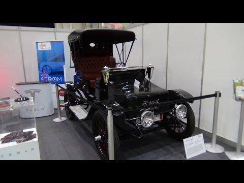 1912 Detroit Electric Model 25 - Exterior and Interior - Hamburg Motor Classics 2017