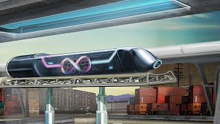 World's first full-size hyperloop test in Las Vegas; High-speed rails in USA - Compilation