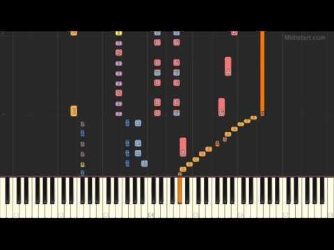 Ryuichi Sakamoto - Rain (Piano Tutorial) [Synthesia Cover]