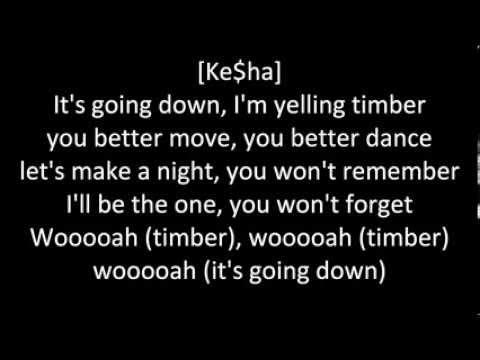 Pitbull feat. Ke$ha - Timber