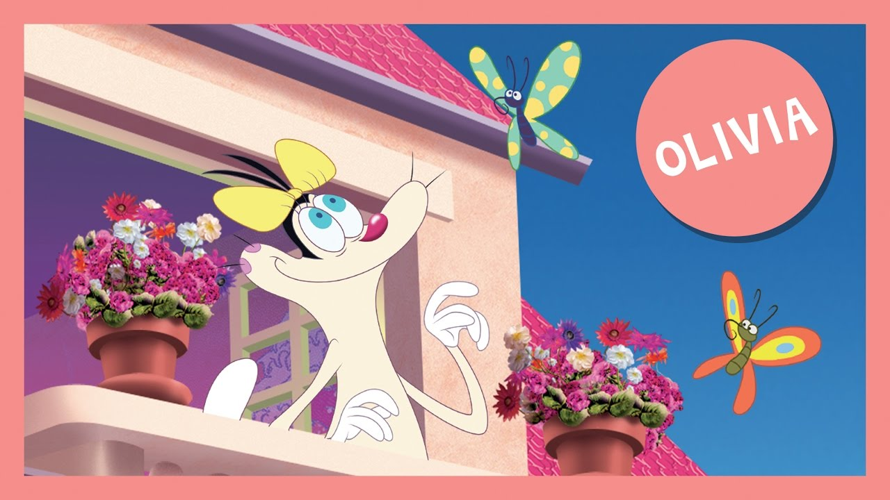 The Best Oggy and the Cockroaches Cartoons New collection 2016 Part OLIVIA (Over 1 hour)