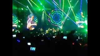 Coldplay - Intro + Mylo Xyloto + Hurts Like Heaven live@Nice