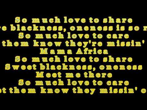 AkonMama Africa Lyrics