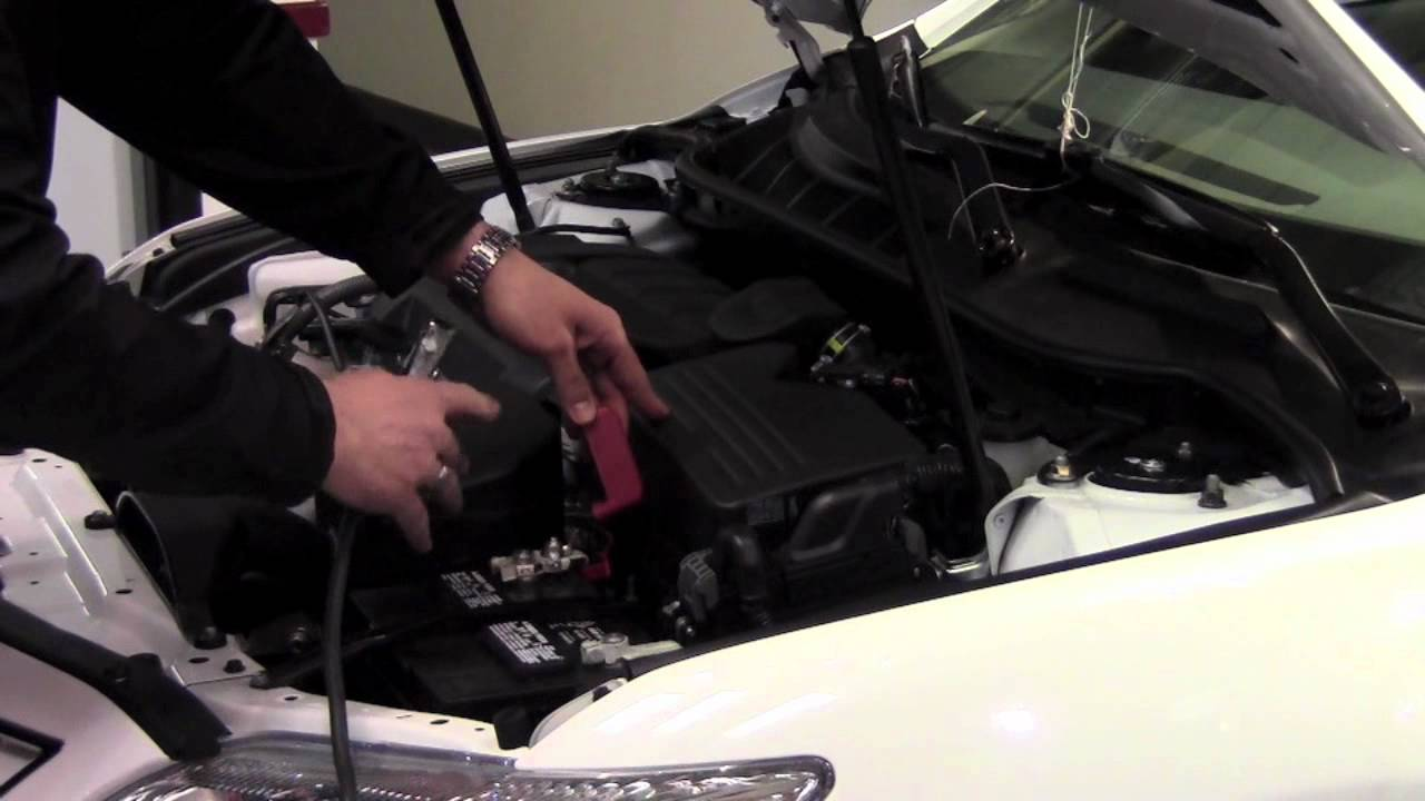 2011 | Toyota | Camry | Jump Start Battery | How To by Toyota City Minneapolis MN - YouTube