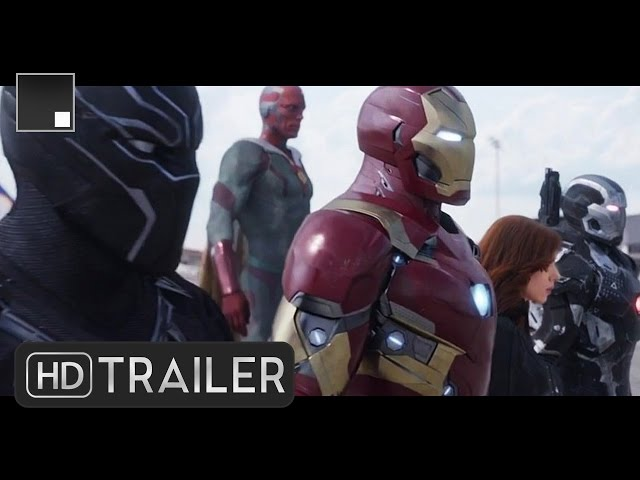 MARVEL'S CAPTAIN AMERICA: CIVIL WAR - Trailers Compilation HD