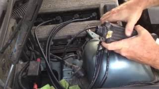 BMW E36 318i 318ti 318is M44 Spark Plug Wire Replacement