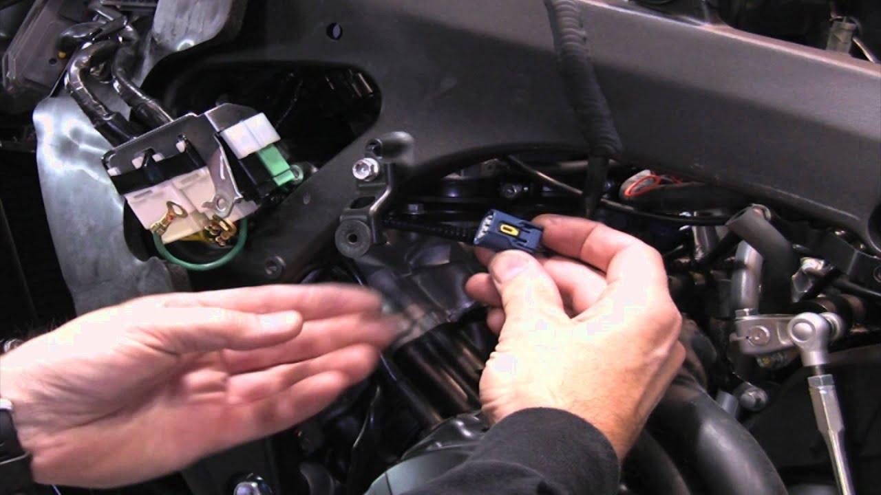 Yamaha R Power Commander Install