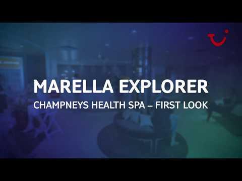 Onboard Marella Explorer  Champneys spa