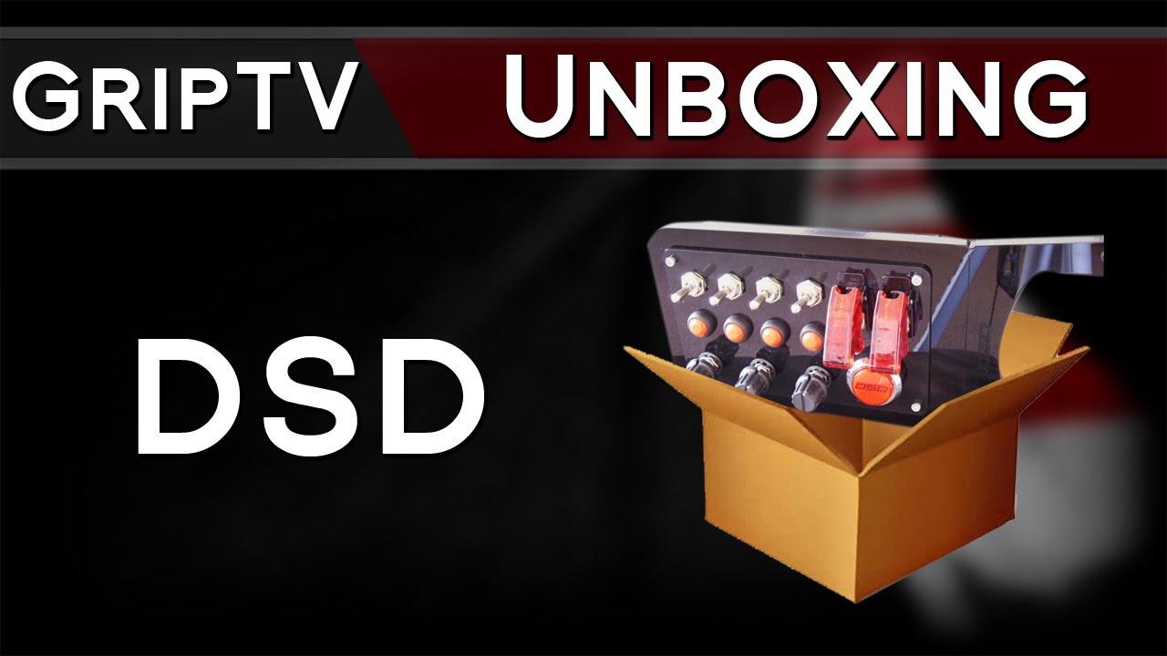 DSD Button Box, unboxing and overview