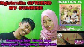 MV Gfriend (여자친구) - Sunrise (해야) Reaction Indonesia