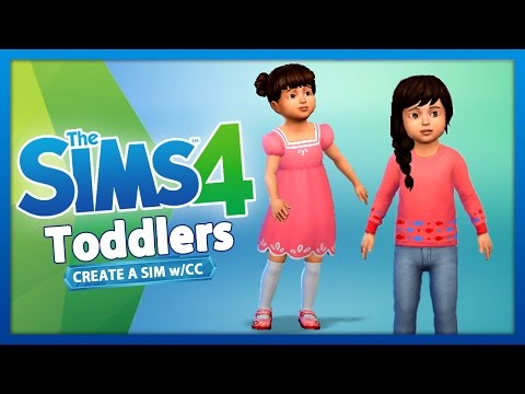 The Sims 4: Create a Sim - TODDLERS