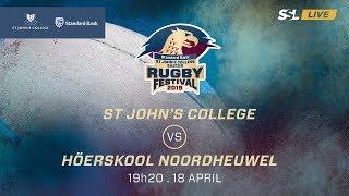 St John's College vs Noordheuwel, St John's College Easter Rugby Festival 2019