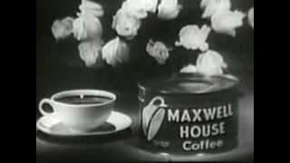 QUANDO IL CAFFE' E' UN LUSSO!! FANTASTICO SPOT MUSICALE VINTAGE USA ANNI '50 - Lingua inglese