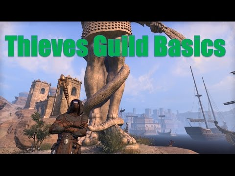Getting Started with the Thieves Guild ESO Patch 2.3