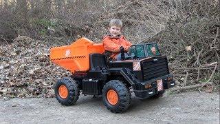 Home Depot 12-volt Ride On Dump Truck For Kids
