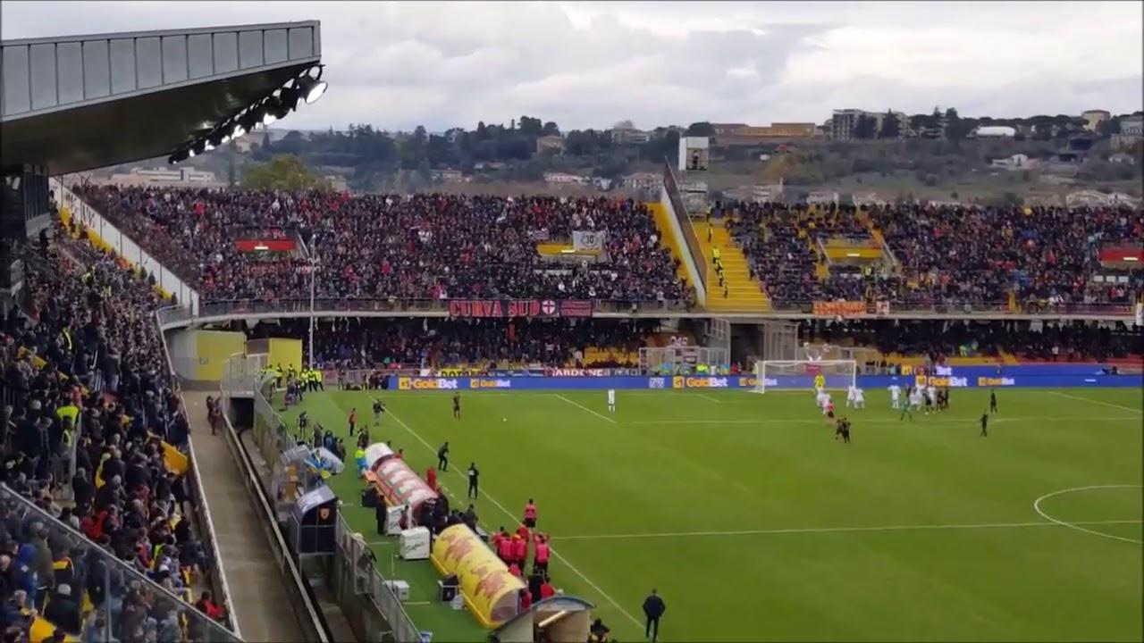 Benevento Milan Gol Brignoli Live Curva Benevento Youtube