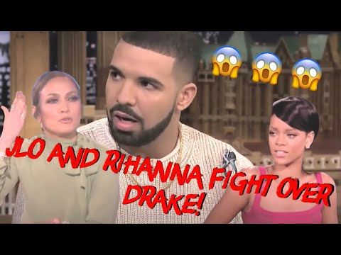 Drake and JLo Speak to Rihanna