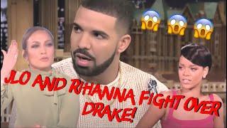 drake and jlo speak to rihanna
