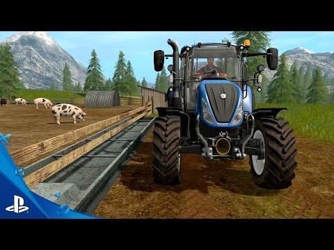 Farming Simulator 17 - Tending to Animals Gameplay Trailer #2 | PS4