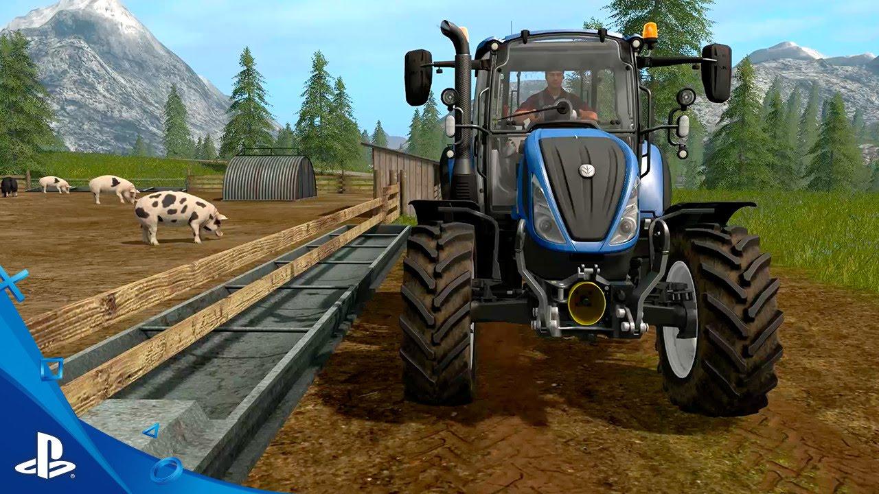 Farming simulator ps4