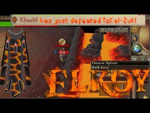 THE DREAM!! Getting Inferno Cape On Elkoy RSPS (Speed run)