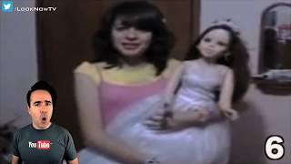 10 CREEPY & HAUNTED Dolls Caught On Camera!