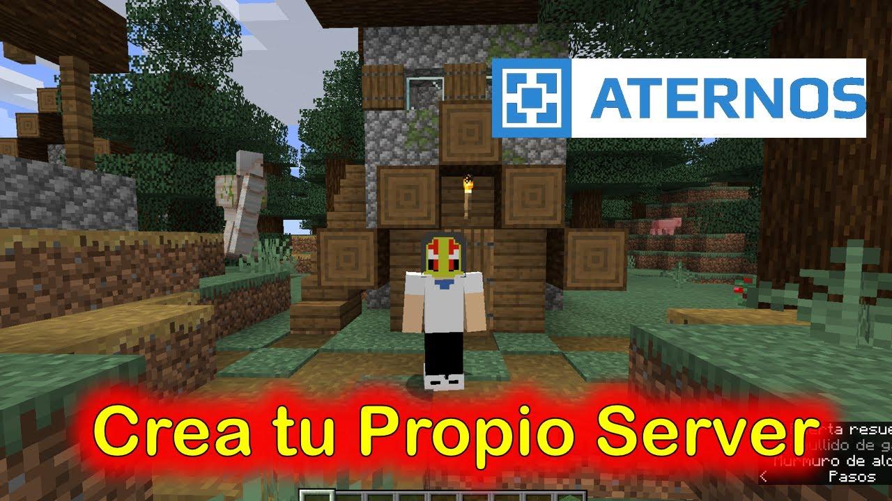 Como crear un Server en ATERNOS - YouTube