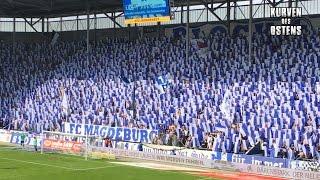 1. FC Magdeburg 2:0 FC Rot-Weiß Erfurt 01.04.2017 | Choreo & Support