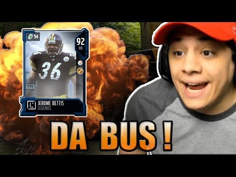 We Finally Got THE BUS! OMG! (93 Jerome Bettis Gameplay) - Madden NFL 18 Ultimate Team