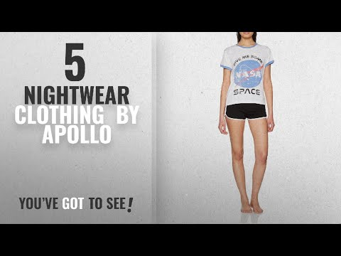 Top 10 Apollo Nightwear Clothing [2018]: Nasa Women's Give Me Some Space' Pyjama Sets