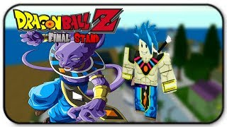 Comment devenir le Dieu de la destruction dans Roblox Dragon Ball Z Final Stand