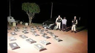 """Detuvieron a narco que hacía de """"campana"""" para el traslado de unos 380 kilos de marihuana"""