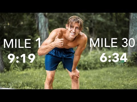 I ran 1 mile every day for 30 days