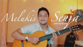 MELUKIS SENJA - BUDI DOREMI ( VERSI AKUSTIK COVER BY ALDHI ) | FULL VERSION LIRIK