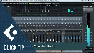 Complete Overview of The MixConsole | Working Faster with the MixConsole