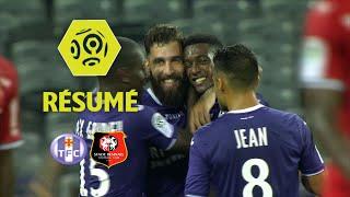Toulouse FC - Stade Rennais FC (3-2)  - Résumé - (TFC - SRFC) / 2017-18