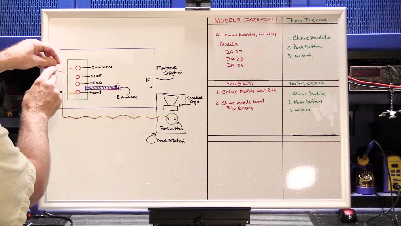 fundamental trouble shooting of nutone intercom system chime modules [ 1280 x 720 Pixel ]