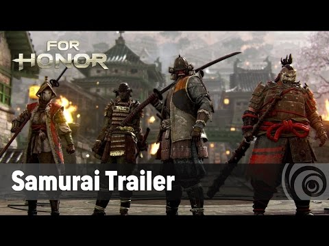 For Honor - The Samurai - Official Trailer (TGS 2016) [ES]