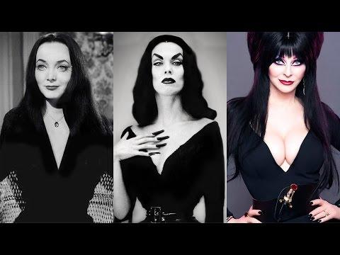 Morticia, Vampira & Elvira